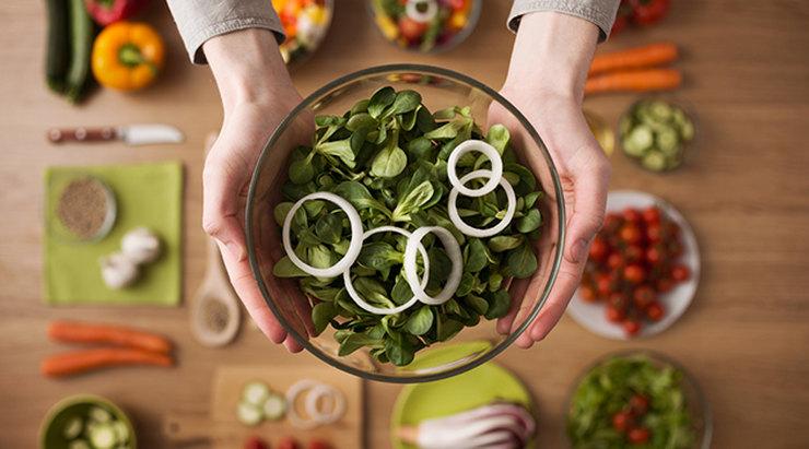 достаточно фруктов и овощей