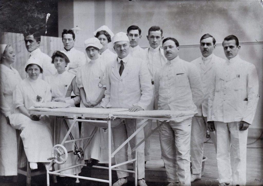 Медицина в Первой мировой войне