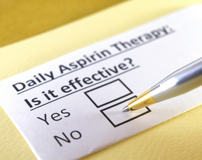 Аспирин для первичной профилактики