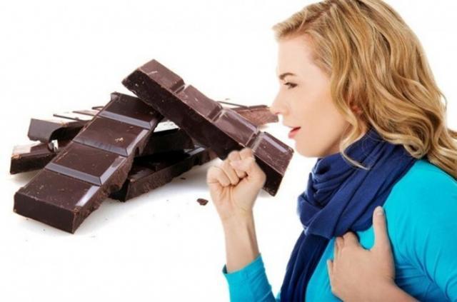 шоколад при кашле