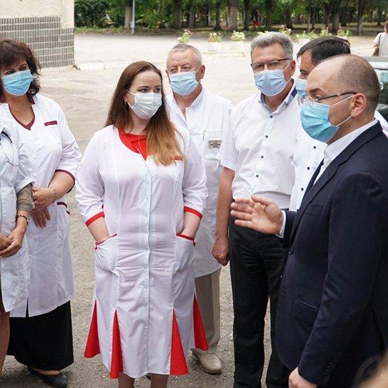 В Харькове будет реконструировано отделение областной инфекционной больницы