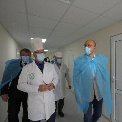 Премьер-министр посетил Сумскую областную клиническую больницу