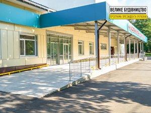 Завершается реконструкция приемного отделения Кировоградской областной больницы